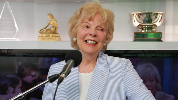 Trina McQueen inducted into CBC News Hall of Fame