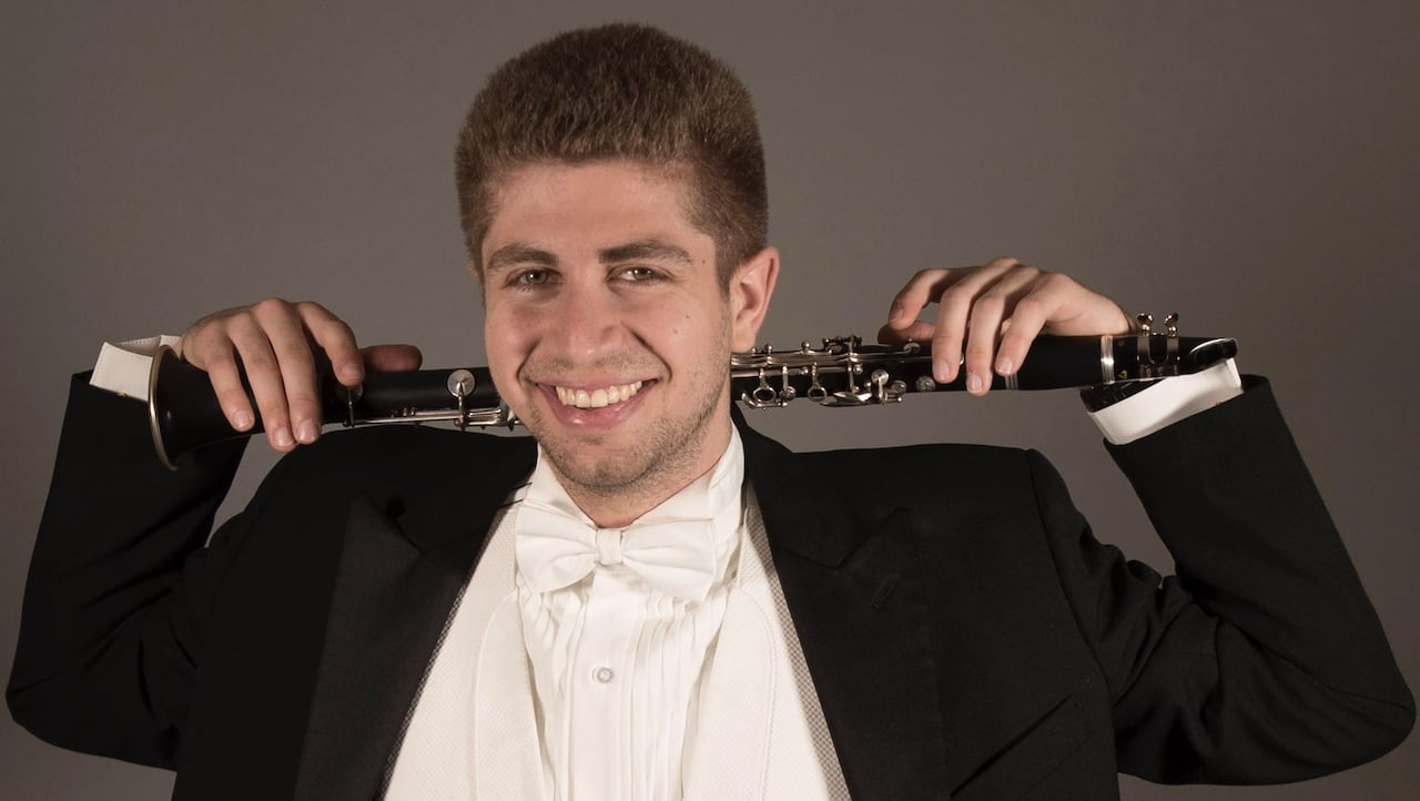 Clarinetist awarded for his ex's deception says it's a 'long road