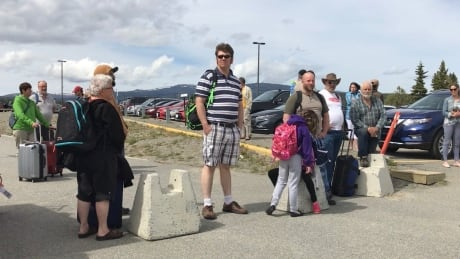 Whitehorse airport evacuation
