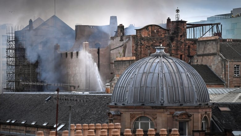 Fire ravages Glasgow School of Art