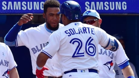 Hernandez Solarte Blue Jays Sweep Nationals