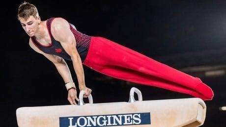 Thierry Pellerin Gymnastics Canada Gold