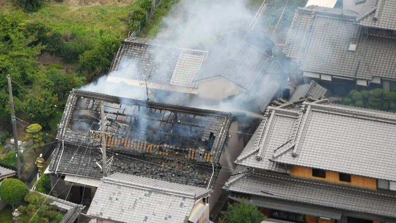 2 feared dead after natural disaster  hits Osaka in western Japan