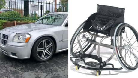 Pastor's quick action helps athlete recover stolen customized wheelchair | CBC