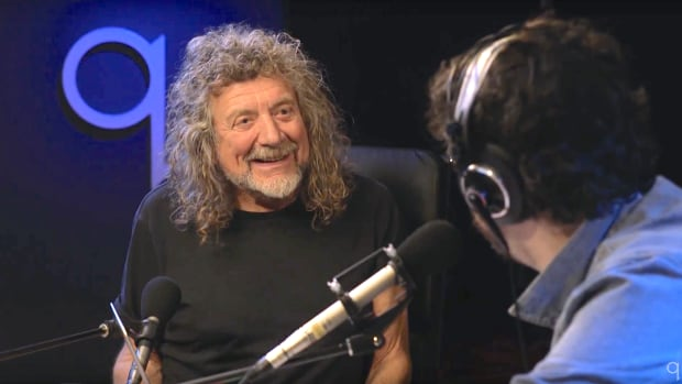 Watch Robert Plant S Reaction To 8 Year Old Girl Playing