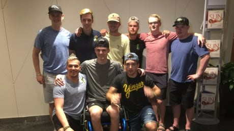 Humboldt Broncos survivors reunite in Vegas for NHL awards | CBC
