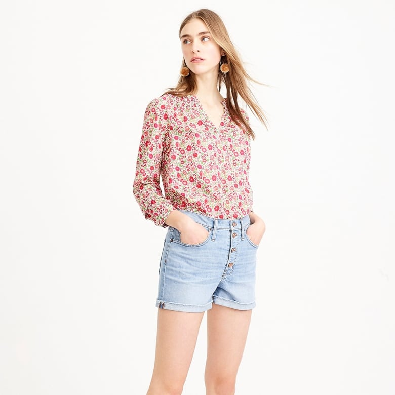 b6215a3342de6 From pretty shirting to leather leggings and cotton pyjamas, a shorter gal  could build a full, fashionable wardrobe through the petites section at J.  Crew ...