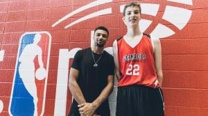 Towering Montreal preteen impresses even NBA stars