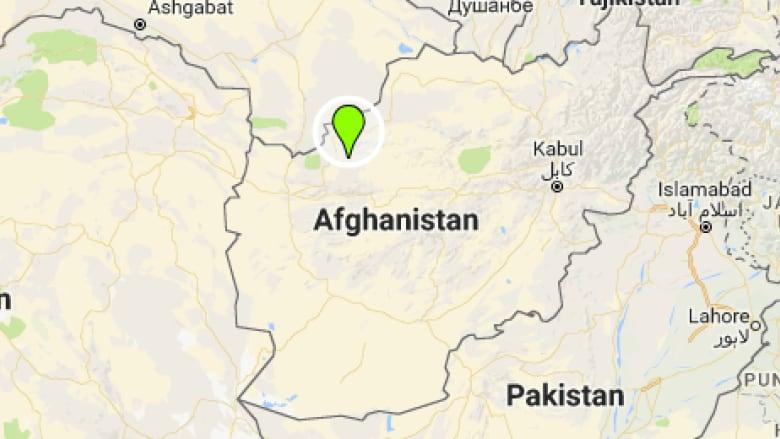 Badghis afghanistan map