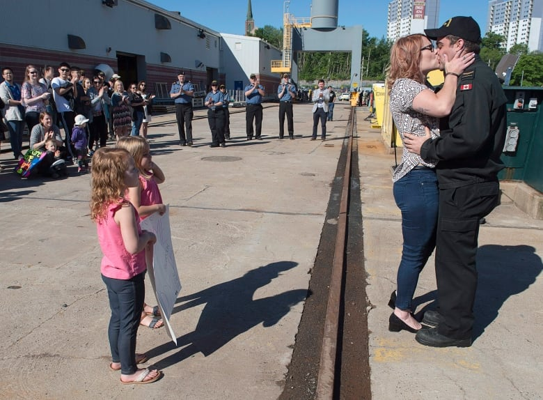 Navy submarine HMCS Windsor returns to Halifax after 5-month