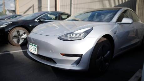 New Car Sales Tesla