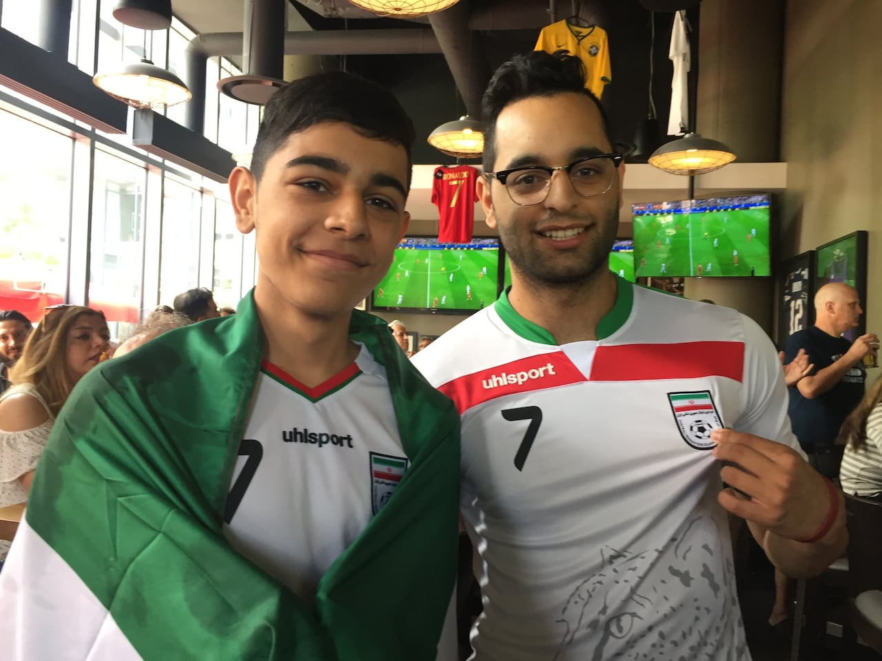 brand new bb068 f589a It's just a game': Iran World Cup fans frustrated politics ...
