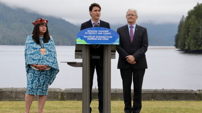 Trudeau and B.C. North Coast First Nations announce ocean protection agreement