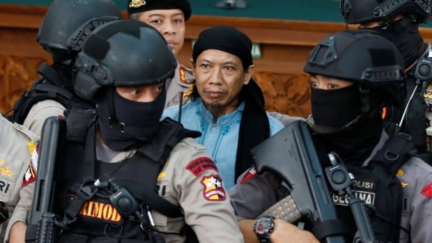 Indonesia gives death sentence to cleric linked to deadly Starbucks attack  | CBC News