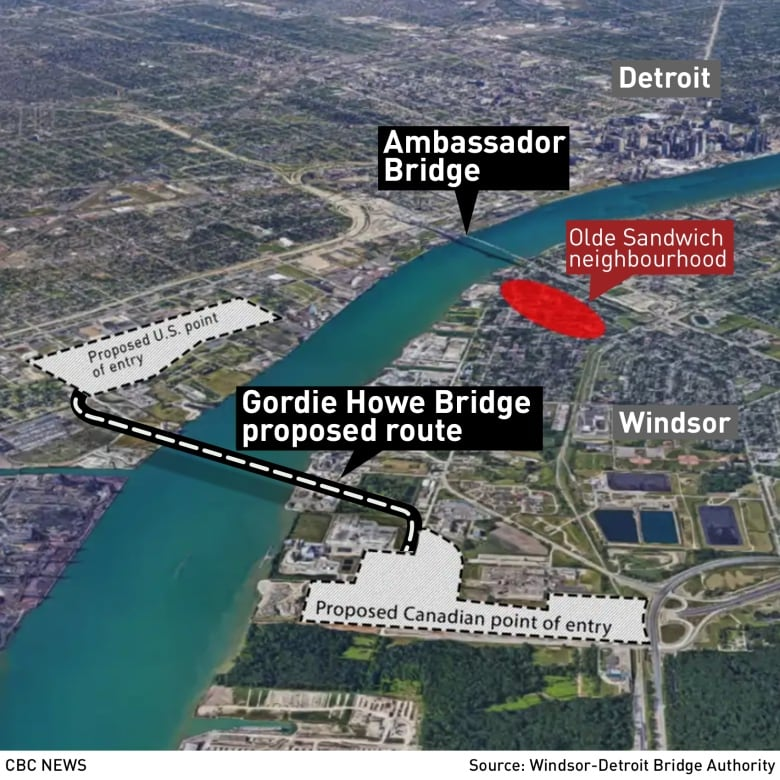 First look at new Gordie Howe International Bridge released