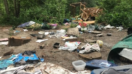 Clean-up planned for 'filthy' campsite left by notorious mail thieves near Peachland