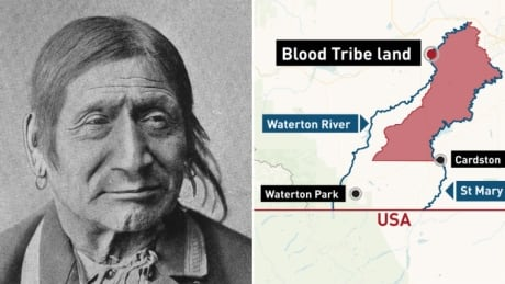 Blood Tribe Chief Red Crow