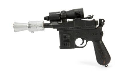 Hans Solo Blaster Auction