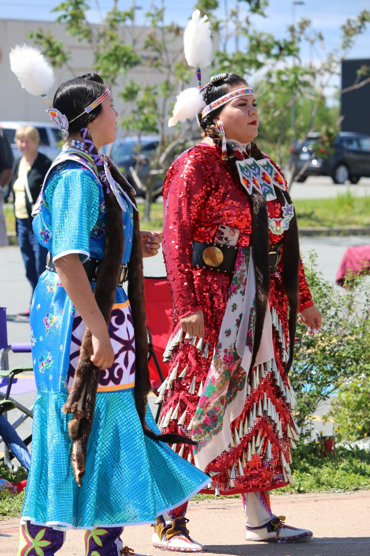 It's not a costume': Mi'kmaq 'jingle sisters' reflect on regalia and