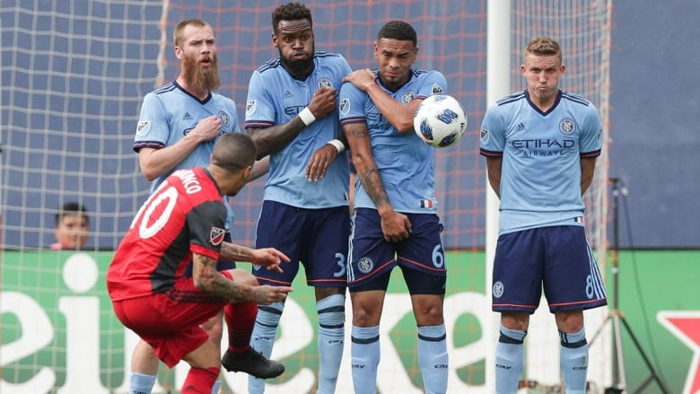 Toronto FC falters in 2nd half as New York City FC rallies