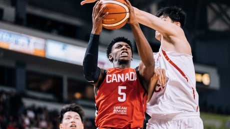 R.J. Barrett powers Canada past China for 2nd game in a row