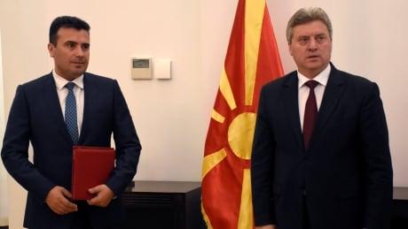MACEDONIA-POLITICS/IVANOV-ZAEV