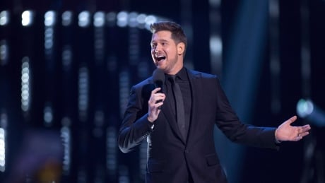 'Consider the source': Michael Bublé laughs off tabloid's claim he's retiring