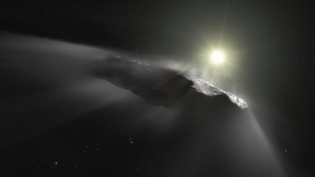 Interstellar visitor is a comet, not an asteroid, astronomers suggest