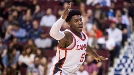 R.J. Barrett's rise to senior squad comes at perfect time for Canada