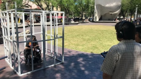 'Locked out of life': Disability advocate goes behind bars to raise awareness of funding gaps thumbnail
