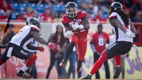 Stampeders charge past Redblacks on strength of defence