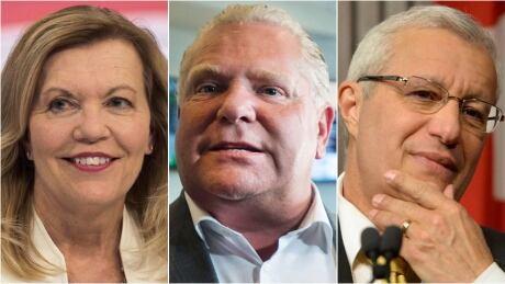Toronto PC Cabinet Elliott, Ford, Fedeli