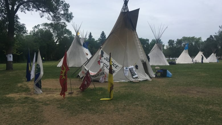 newest collection 22ecc 39801 More teepees join protest camp at Sask. legislature