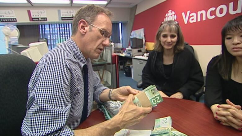 How CBC journalists laundered $24K at B C  casinos   CBC News