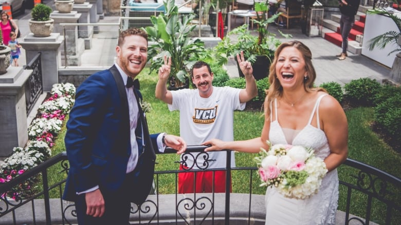 Adam Sandler Makes Surprise Cameo In Montreal Couples Wedding