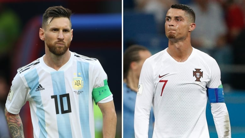 buy popular 8e572 961aa Messi, Ronaldo leave World Cup without elusive crown | CBC ...