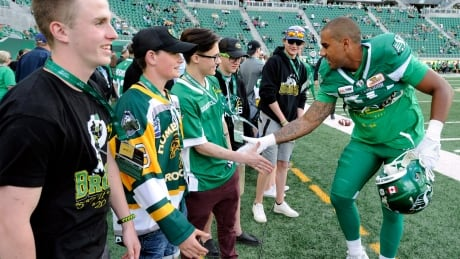 Roughriders honour Humboldt Broncos emotional