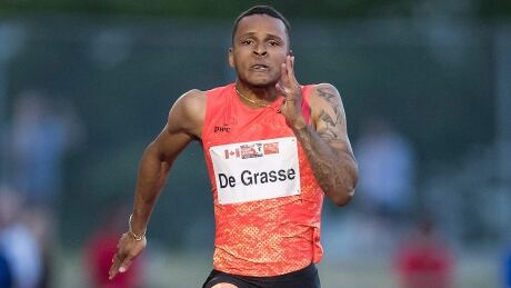Andre Grasse coach reported split