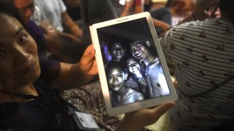 Missing boys - Thai cave - Family photo