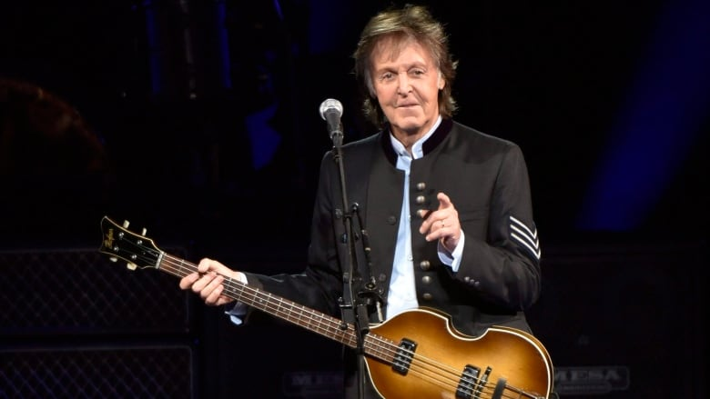 Paul McCartney's back in Edmonton Sept. 30 at Rogers Place