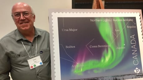 amateur astronomer s aurora borealis photo lands on canadian stamp