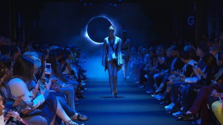 From Sci Fi To The Runway Unttld Take Their Cue From The Dystopian Future Cbc Arts