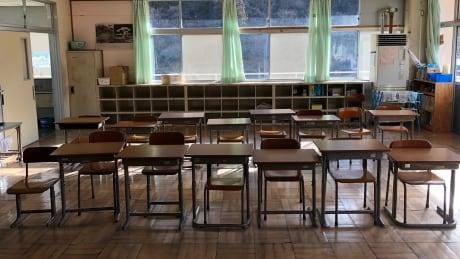 Empty classroom Nanmoku