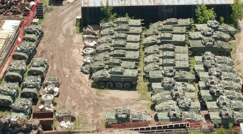 What is 'the backbone' of the Canadian Army doing in a junk
