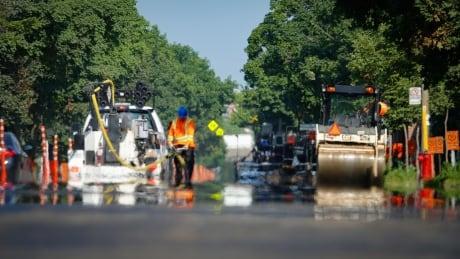 Montreal asphalt heat
