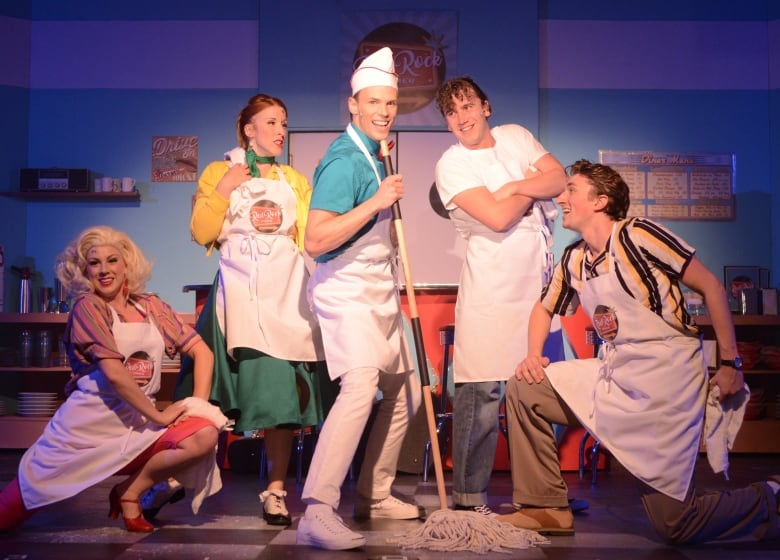 The Cast Of Red Rock Diner A Musical Inspired By The Life