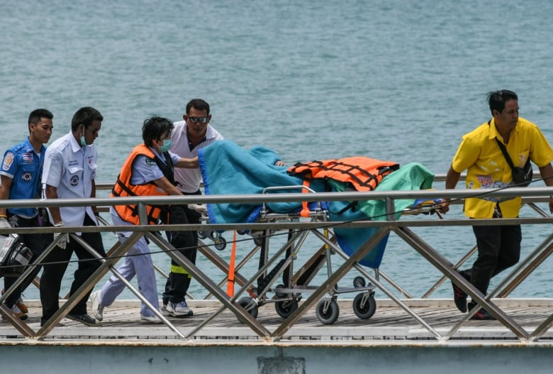 Dozens missing after boats capsize in Thailand