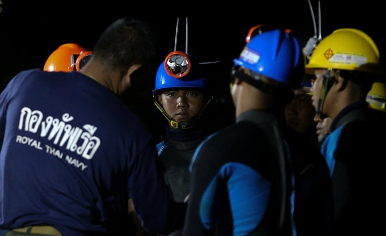 Rain Resumes, Thai Cave Rescue Effort Begins