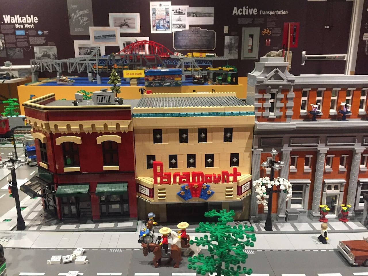 Exhibit Recreates Downtown New Westminster Out Of Lego Cbc News