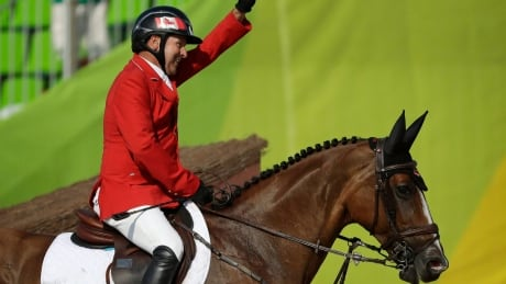 Eric Lamaze on solid footing with Fine Lady